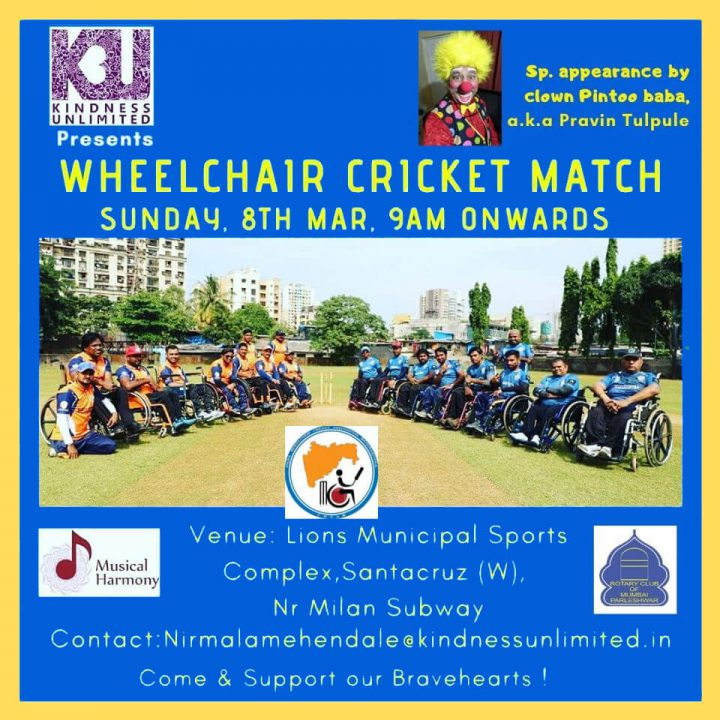 Wheelchair Cricket Match